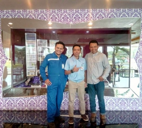Kalibrasi Fix Gas Detector di PT Yamaha Musical di Pasuruan